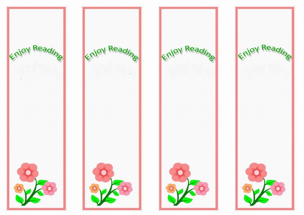 Garden Bookmarks – Birthday Printable