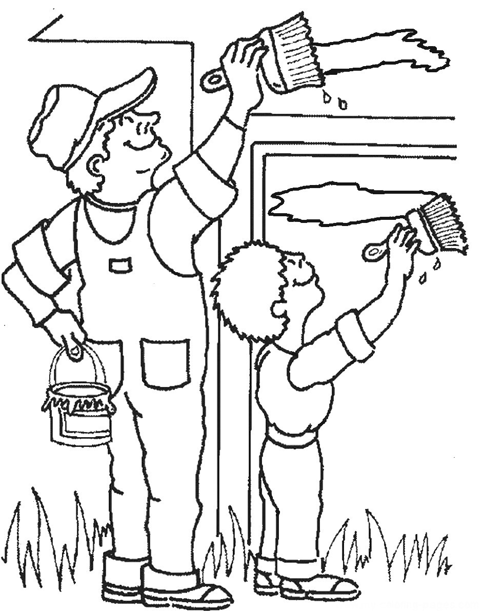 Constructions Coloring Pages