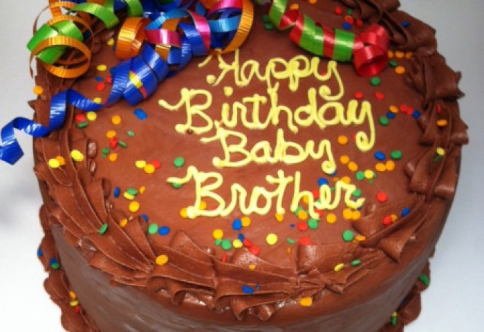 Happy Birthday Wishes For Brother Cake With Name Edit Happy