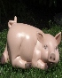 Pig Laying down Lawn Ornament