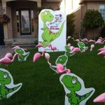 Collingwood Party rentals lawn greetings