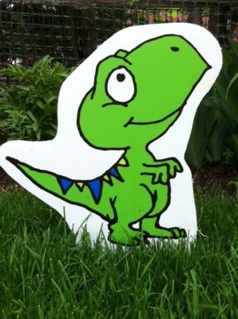 Dinosaur Lawn Ornament