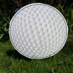 Golf Ball Lawn Ornament