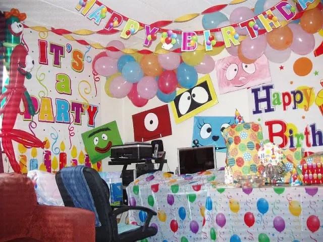 Birthday Celebration For Kids At Home Aralsa Com