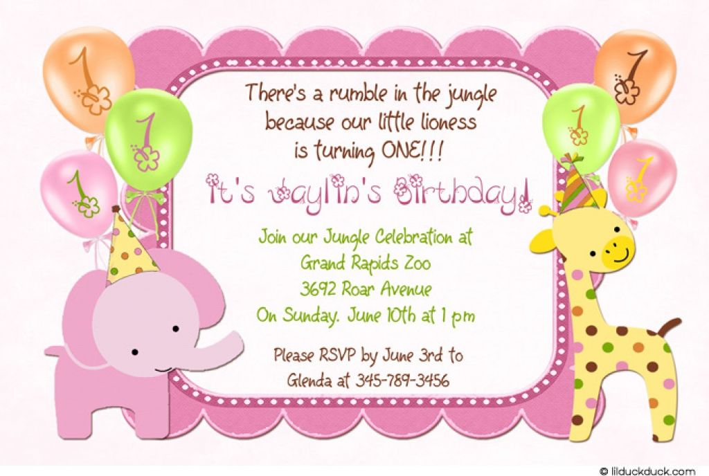Comfortable 21 Kids Birthday Invitation Wording That We Can Make
