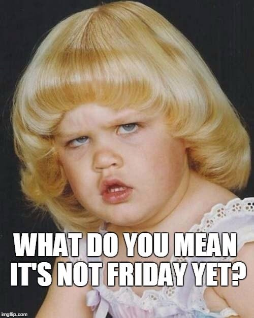 Is It Friday Yet Meme : friday, Funny, Friday, Unhappy