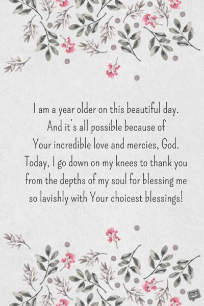 Thankful For Another Year Birthday Quotes : thankful, another, birthday, quotes, Birthday, Prayers, Myself, Thank, Another