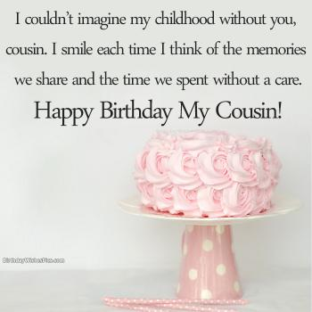 Birthday Wishes For Cousin Happy Birthday Cousin Images