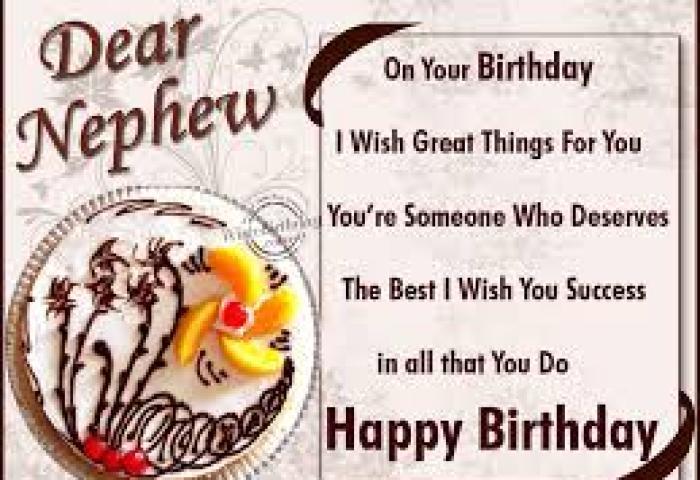 50 Happy Birthday Wishes For Nephew Birthday Wishes Zone