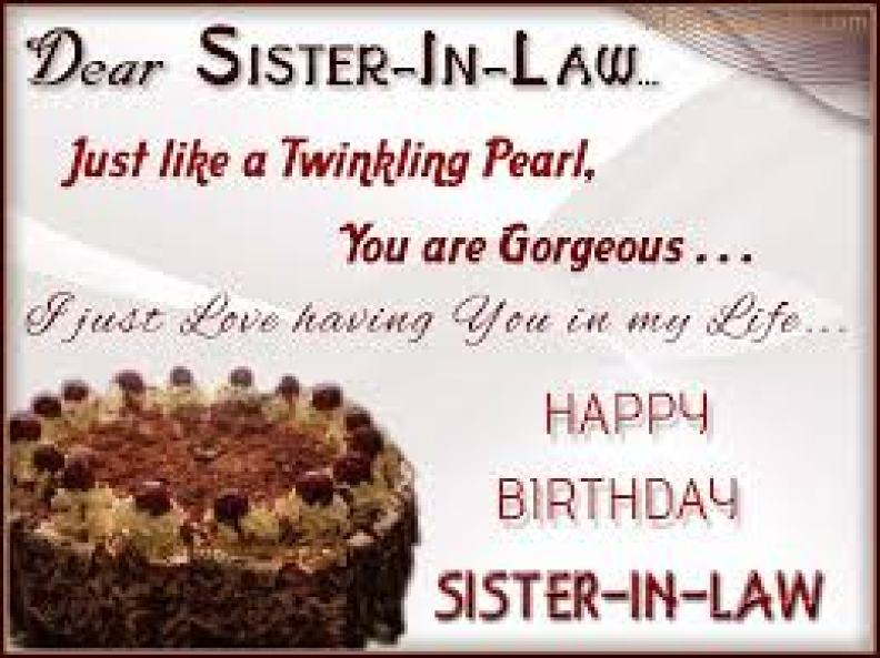 Best 50 Lovely Birthday Wishes For Sister In Law - Birthday Wishes Zone