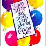 20 Birthday Wishes For Grand Son