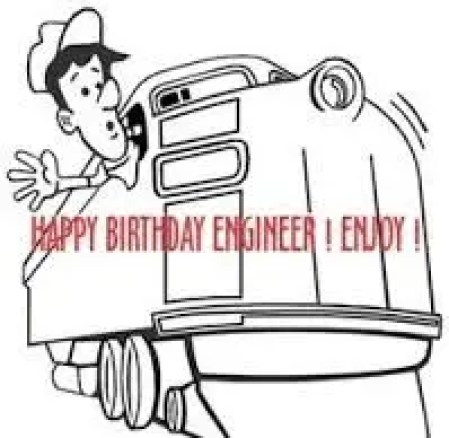 Happy Birthday Engineer
