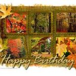 Best Happy Fall Birthday Wishes