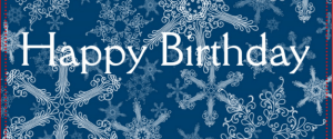 Winter Birthday Wishes