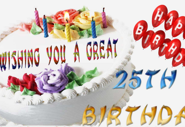Outstanding 25th Birthday Wishes Birthday Wishes Zone