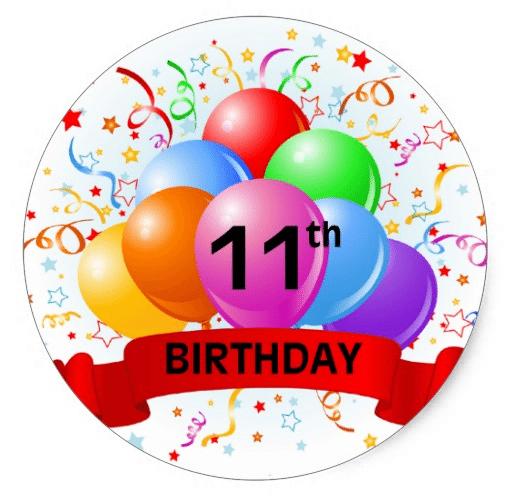 Happy 11th Birthday Boy Images