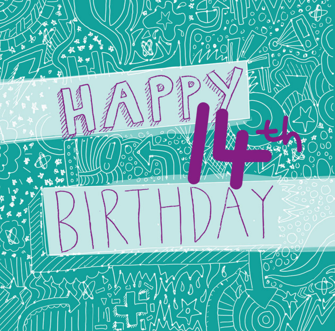 Best 14th Birthday Wishes - Birthday Wishes Zone