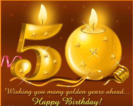 best 50th birthday wishes