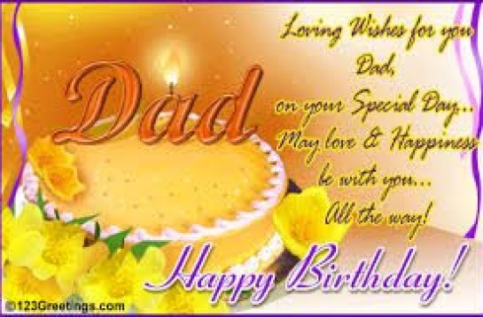Latest Birthday Wishes For Dad Birthday Wishes Zone – Happy Birthday Greetings to Father
