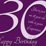 Happy 30th Birthday Wishes | Best 30th Birthday Greetings