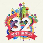 Latest 32nd Birthday Wishes | Happy 32nd Birthday Wishes and Greetings
