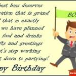 Birthday Poem For Boss
