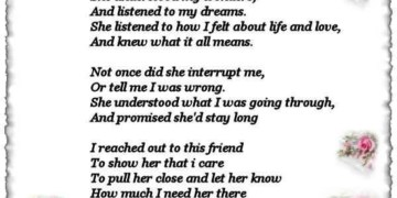 Birthday Poem for Best Friend