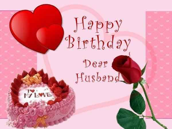 Husband Birthday Wishes Messages – Birthday Greeting for Husband