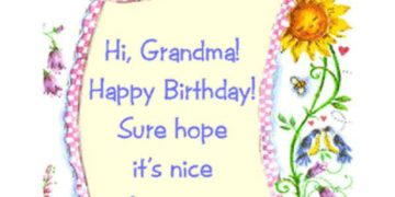 Birthday Wishes For Grand Ma