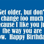 Elderly Birthday Wishes