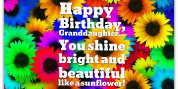 Grand Daughter Birthday Wishes