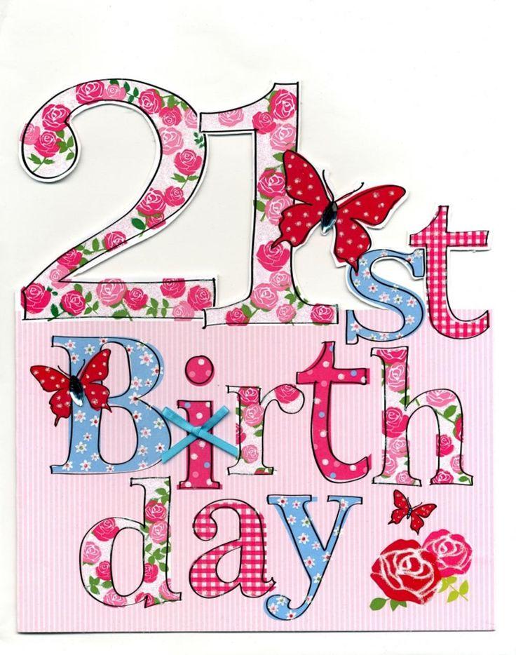 21st Birthday Wishes For Boy/Girl - BirthdayWishings.com