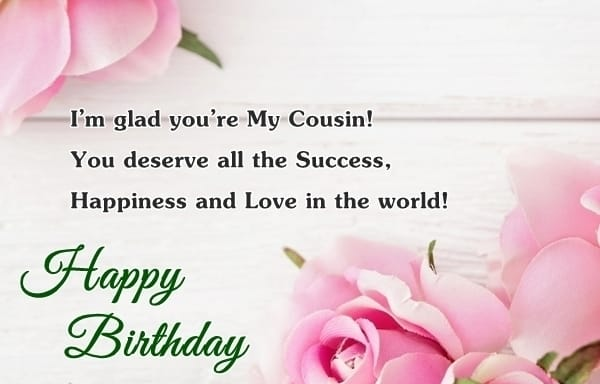 Best Birthday Wishes For Cousin Top Cousin Birthday Wishes – Live Birthday Greetings