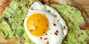 Avocado and Egg Breakfast Pizza Recipe