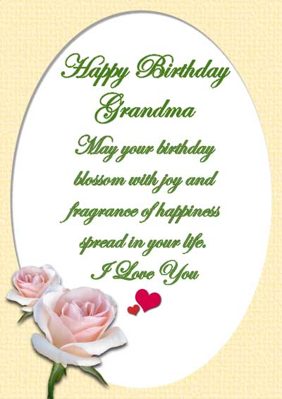 Birthday Wishes For Grandma Grandma Birthday Messages – Nana Birthday Cards