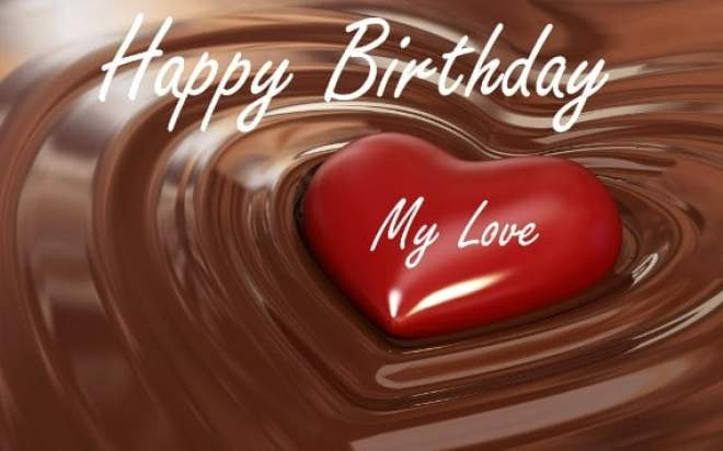 Birthday Wishes Romantic Him ~ Happy birthday my love images quotes poems letters for him her