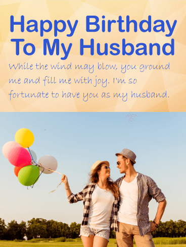 Romantic Birthday Wishes for your Husband