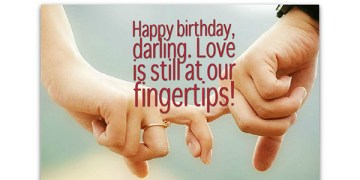Birthday Message for Your Husband