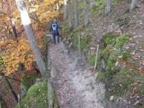 Baybachklamm Traumschleife, sicherung k Wanderung 1.11.15, B+M 2015-11-01 015