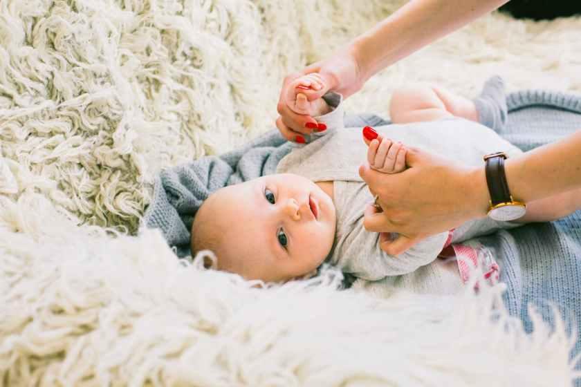 Baby Massage baby happy