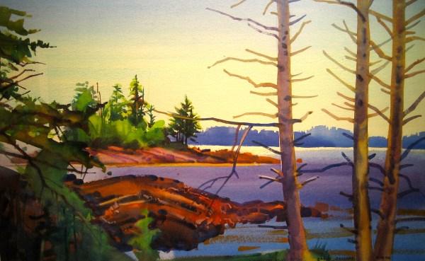 Stephen Quiller Watercolor Paintings