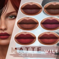 *Birth* Catwa Lipsticks – Willow Matte Set 1
