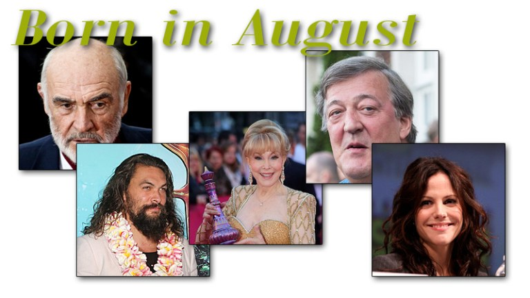 Famous People Born in August