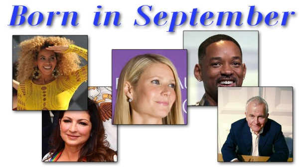 Famous People Born in September