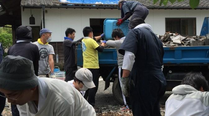 平成28年熊本地震ボランティア活動レポート