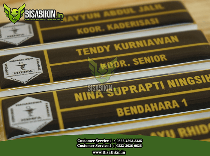 grosir name tag murah