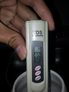 ulasan TDS meter mc digital