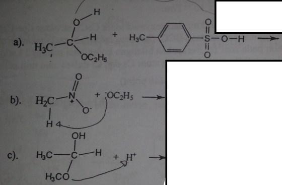 Soal mekanisme kimia Organik