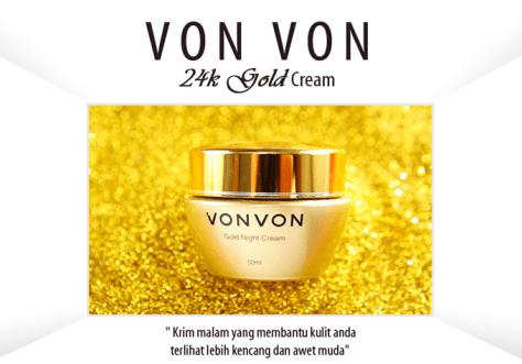 Vonvon Gold night cream