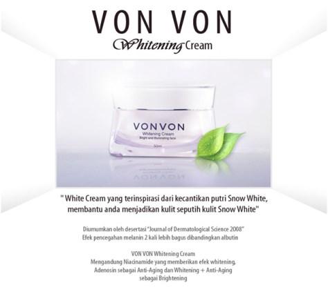 vonvon whitening cream
